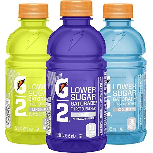 Gatorade G2 Cool Blue Variety Pack,12 oz Bottles (Pack of 24)