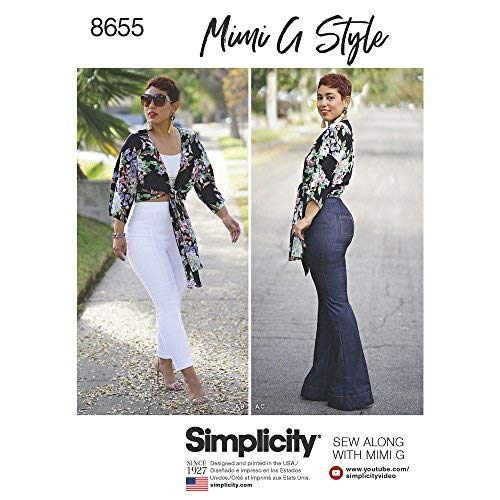 Simplicity Patterns US8655H5 Sportswear, H5 (6-8-10-12-14) for $<!--$5.55-->
