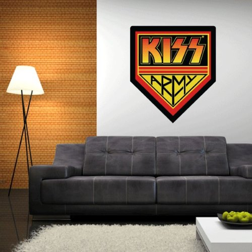 """KISS Army Wall Graphic Decal Sticker 25"""" x 22"""""""