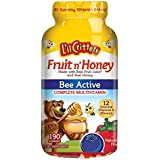L'il Critters Fruit N' Honey Bee Active Complete Multivitamin, 190 Count Gummies