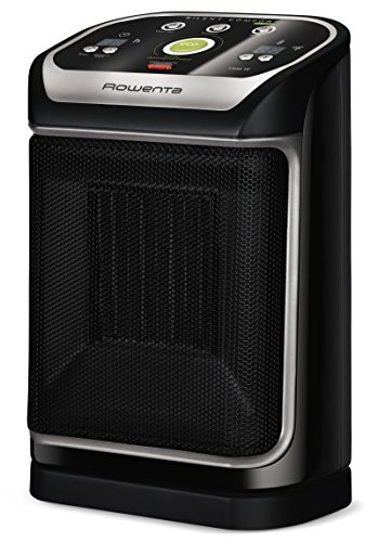 Rowenta SO9276 Silent Comfort Electronic Ceramic Heater with Eco-Mode, 270-Square Ft, Black image