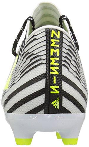 Adidas Originals Mens Nemeziz 17.3 Vaste Grond Cleats Voetbalschoen Wit / Zonne-geel / Zwart