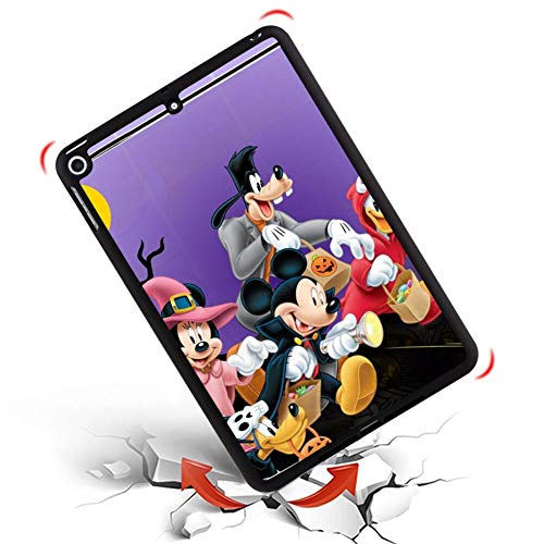 DISNEY COLLECTION Cover Fits for 2018 iPad Mini 5 [7.9in] Halloween Mickey Mouse and Minnie Mouse Goofy Donald Duck Pluto Disney Halloween Wallpaper]()