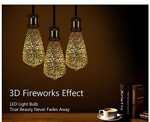 Firework LED Light Bulb