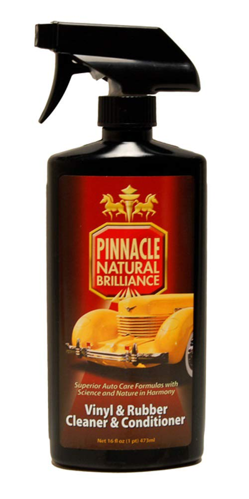 Pinnacle Natural Brilliance PIN-380 Vinyl & Rubber Cleaner and Conditioner, 16 fl. oz.