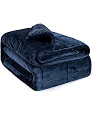 Anjee Sherpa Flannel Weighted Blanket One Color