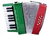 D'Luca Kids Piano Accordion 17 Keys 8 Bass