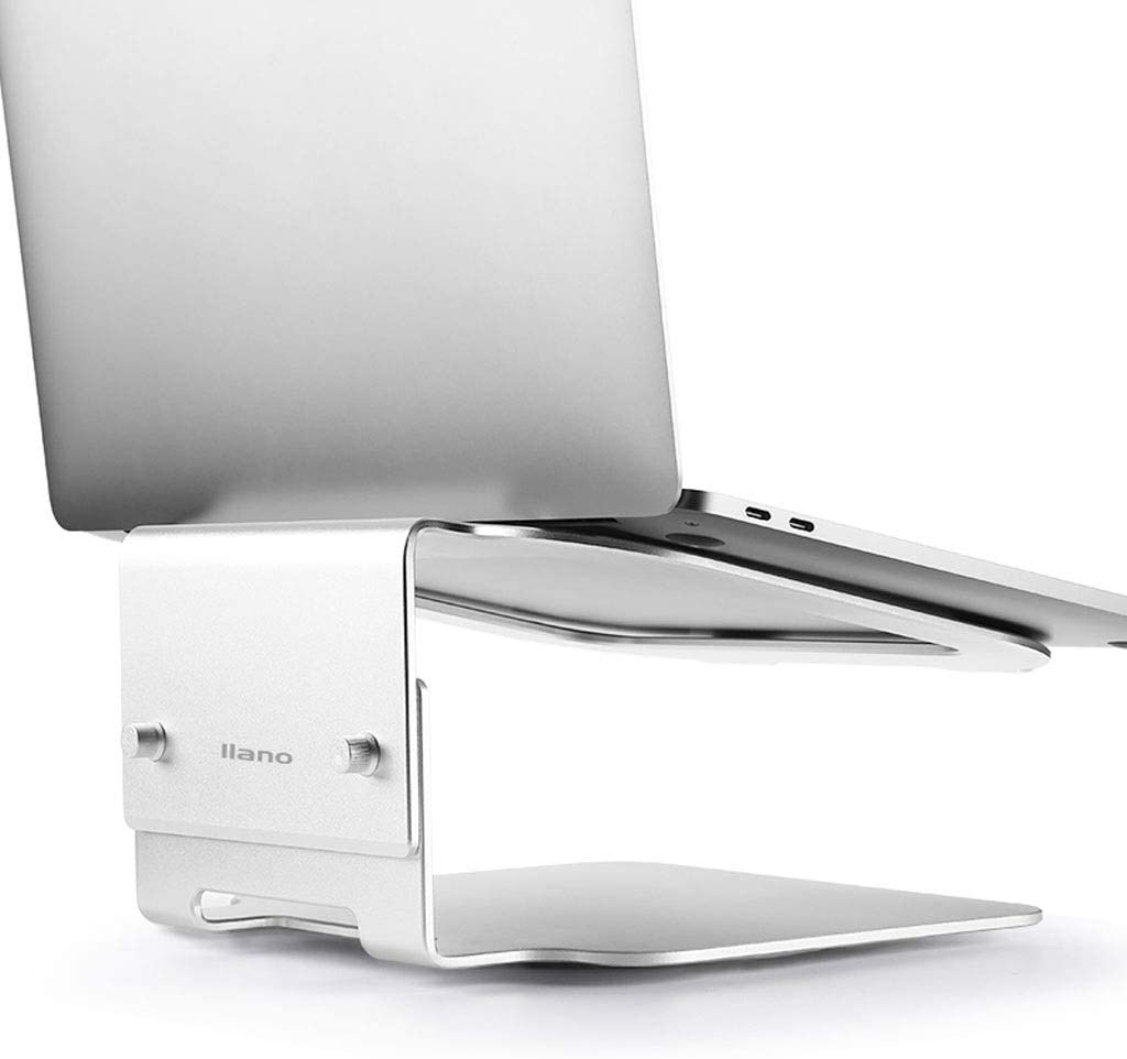 Laptop Stand Metal Portable Laptop Lifter Adjustable Foldable Ergonomic Desktop Laptop Cooling Stand for 11~16.5 Laptops A++