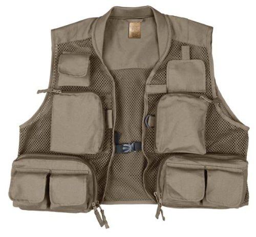 Prestige Gallatin Fishing Vest (Olive, Large), Outdoor Stuffs