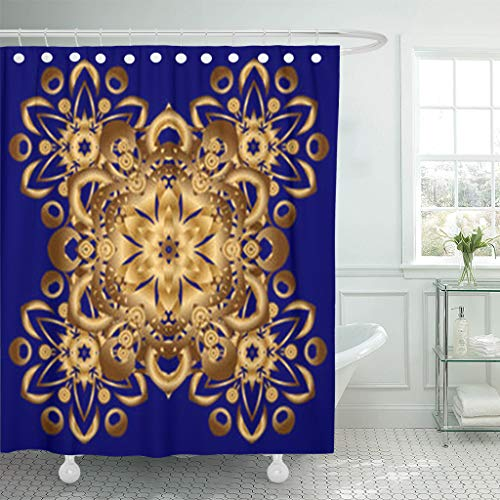 Shower Curtains 78 x 72 inches Unusual Luxury Greeting Oriental Boho Chic Beauty Fashion Objects Peacock Waterproof Polyester Fabric Bathroom Curtain Bath Sets with Free Hooks ()