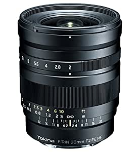 Tokina 20-20mm f/2-22 Wide-Angle-Prime Fixed Prime Digital SLR Camera Lens, Black (FRN-MF20FXSE)