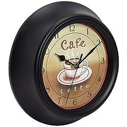 Equity by La Crosse 404-2623 11.75 Latte Color Cafe Clock