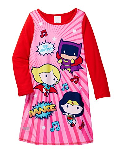 ' Toddler JL Reversible Nightgown, red, 3T ()
