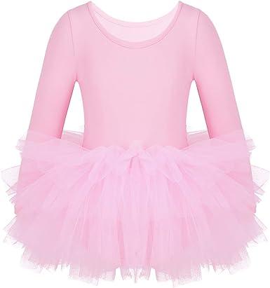Agoky Maillot de Danza Clásica para Niña Vestido Tutú de Ballet ...