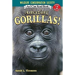 Amazing Gorillas! (I Can Read: Level 2)