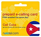 Prepaid Phone Card - Cheap International E-Calling Card $20 for Cuba with same day emailed PIN, no postage necessary