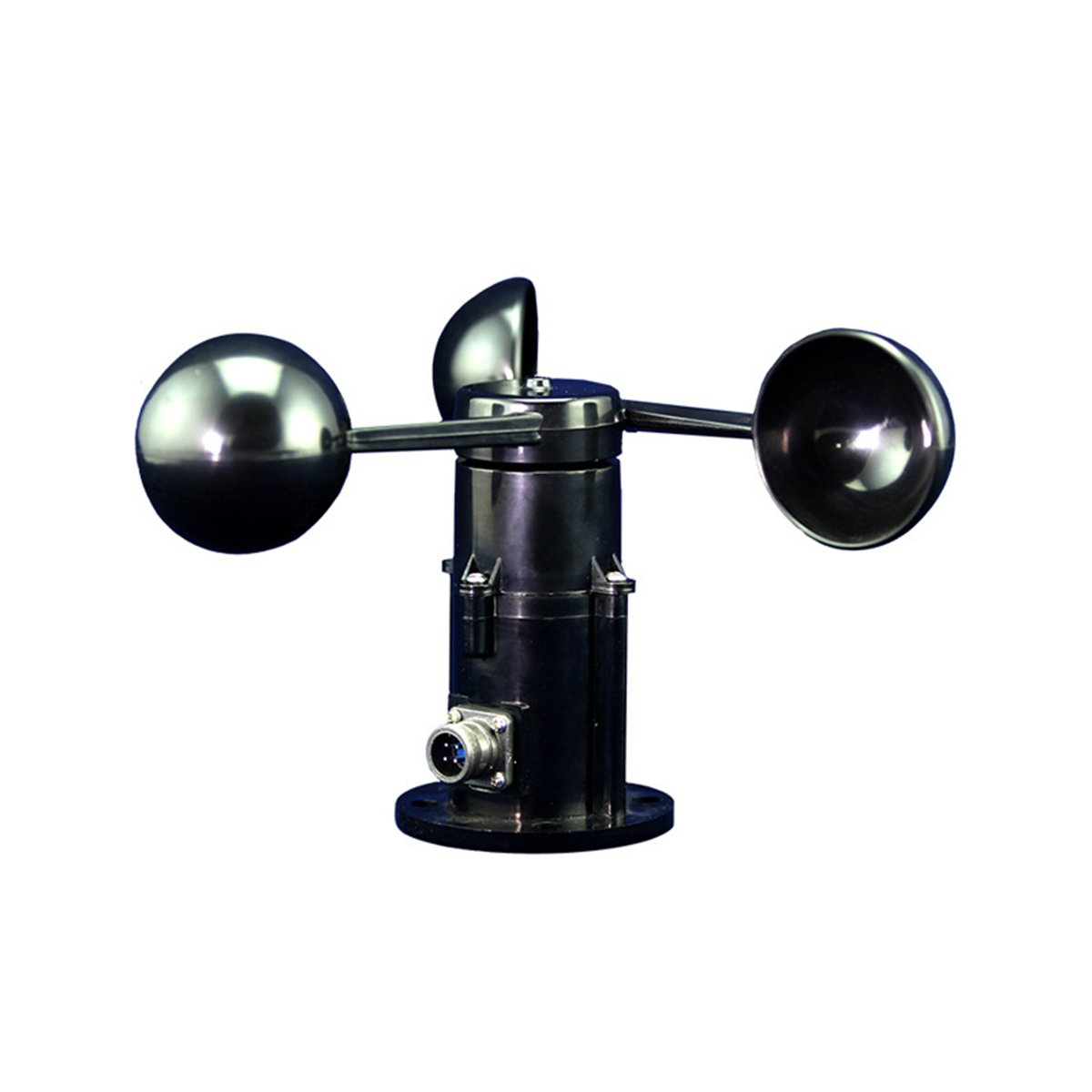 UEETEK Wind speed Sensor Anemometer 0-5V Voltage 3 Cup Wind Speed Transmitter Weather Stations