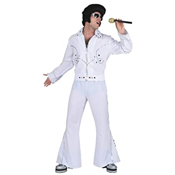 Disfraz de rockabilly Rock n Roll Rock Star Colour blanco caja ...
