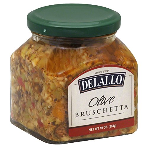 Delallo Olive Bruschetta, 10 Ounce -- 6 per case. Delallo Olives