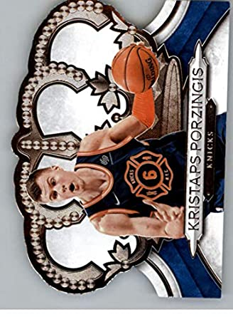 c6582a928d5 2018-19 Crown Royale Basketball  174 Kristaps Porzingis New York Knicks  Official NBA Basketball