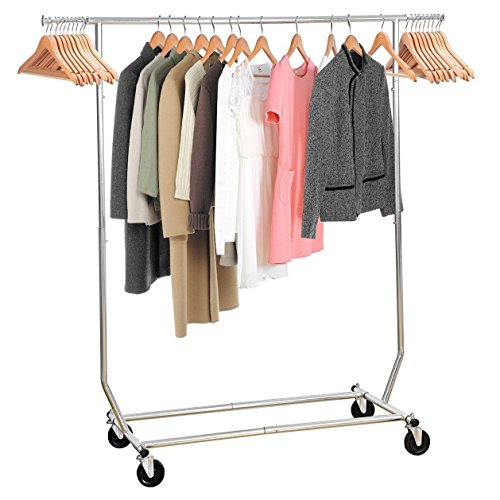 MaidMAX Garment Rack - Chrome