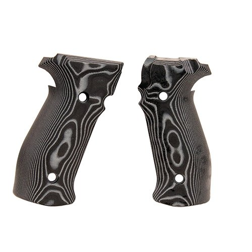 Hogue 23769 Sig P226 Grips, Da/SA Magrip Smooth G10 G-Mascus black by Hogue (Image #1)