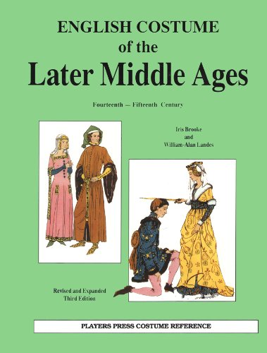 15th Century Costumes England - English Costume of the Later Middle