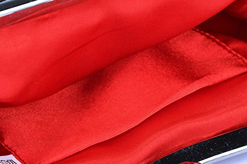 rouge Drasawee femme Rouge Sacoches femme rouge Sacoches Rouge Drasawee Fqwn1TBO