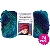 Red Heart 99457 Boutique Unforgettable Yarn 24/Pk-Dragonfly, Pack