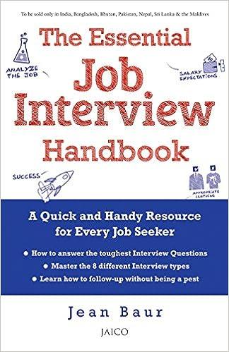 Buy The Essential Job Interview Handbook Book Online at Low