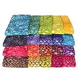 Java Batiks 9 inch Strip Pack Set of 20 Precut Batik Strips CC191