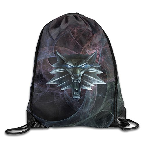 Price comparison product image Creative Design The Witcher Drawstring Backpack Sport Bag For Men And Women