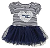 Outerstuff NFL Girl's Infant and Toddlers Celebration Sequin Tutu, Seattle Seahawks 2T