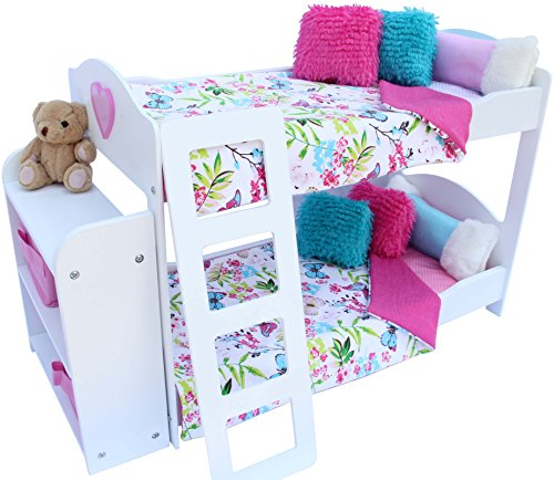 Great 20 Pc. Bedroom Set For 18 Inch American Girl ...