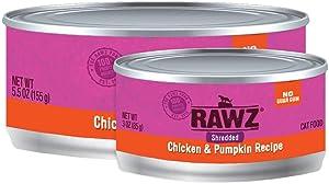 Rawz Shredded Meat Canned Cat Food (Chicken & Pumpkin)