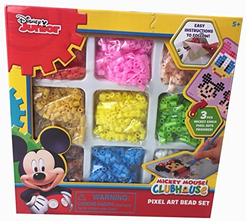 Mickey Mouse Clubhouse Pixel Art Beads Crafts Fusion Set