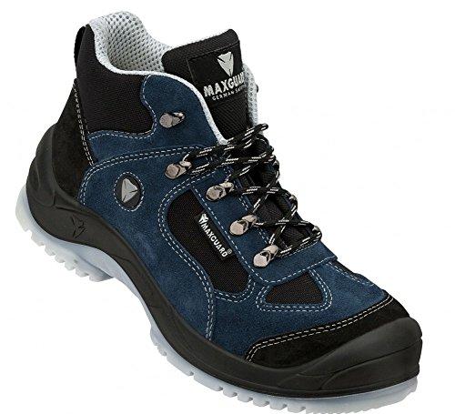 Maxguard E410 Schnürstiefel blau-schwarz S1P Größe 48