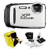 FujiFilm FinePix XP130 Rugged Waterproof WiFi Digital Camera (Yellow) +...