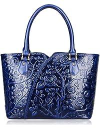 Floral Purses and Handbags For Women Designer Handbags Top Handle Satchel Bags (22328)
