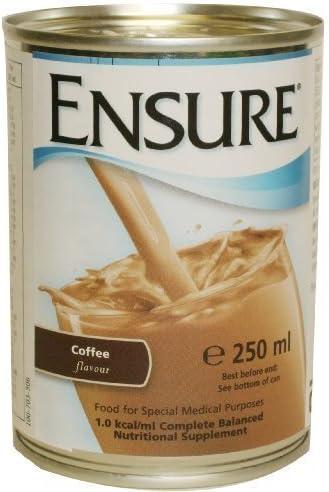Latas Ensure, sabor a café (Lata) 250ml: Amazon.es: Belleza