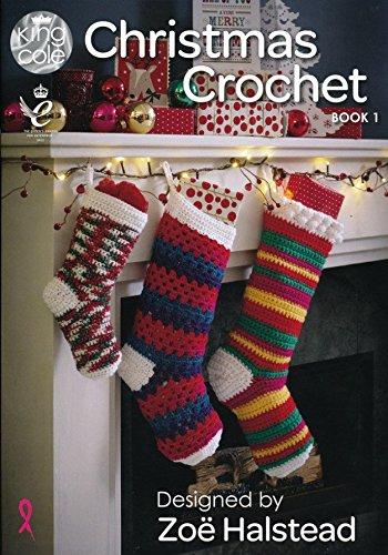 King Cole Crochet Pattern Book Christmas Book 1 Dk Zoe Halstead