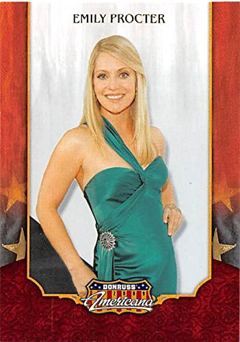 Emily Proctor trading card (CSI Miami, The West Wing) 2009 Donruss Americana #64