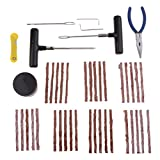 Baoblaze Tire Repair Kit Tools Heavy Duty 43pc Set For Motorcycle ATV Jeep Truck