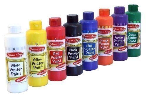 Melissa Doug Poster Colors Bottles