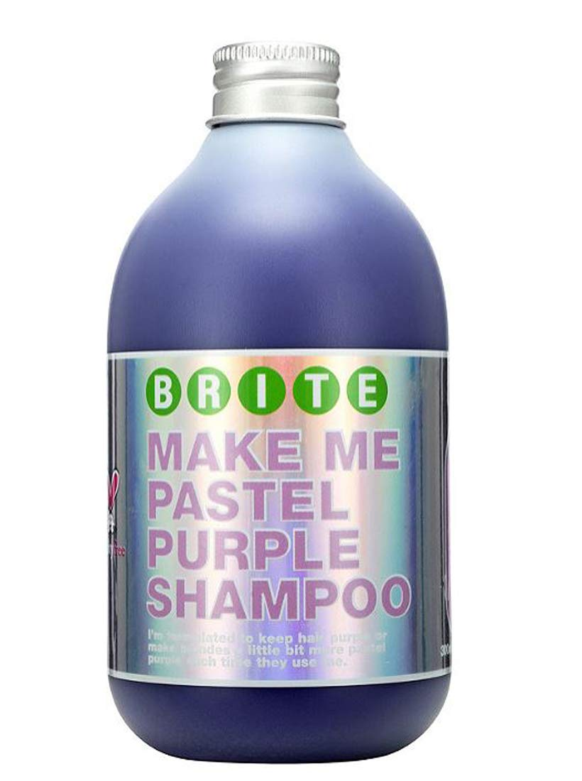 Brite Purple Shampoo 10.14 Oz! Nourishing Shampoo With A Hint Of Purple Color! Vegan And Cruelty Free! Choose From Shampoo, Conditioner Or Set! (Purple Shampoo) by Brite