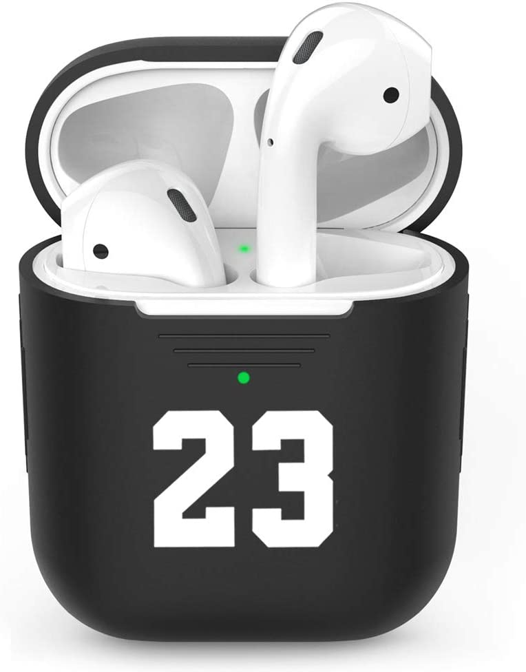 Yiliumao Case Protective Soft Silicone Cover and Skin for Apple Airpods Charging Case B
