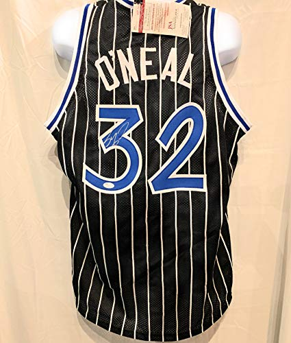 24c9194fadd Shaquille O'Neal Orlando Magic Signed Autograph Custom Jersey JSA Certified