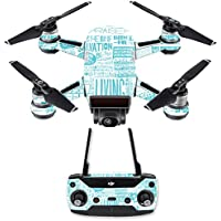 Skin for DJI Spark Mini Drone Combo - Faith| MightySkins Protective, Durable, and Unique Vinyl Decal wrap cover | Easy To Apply, Remove, and Change Styles | Made in the USA