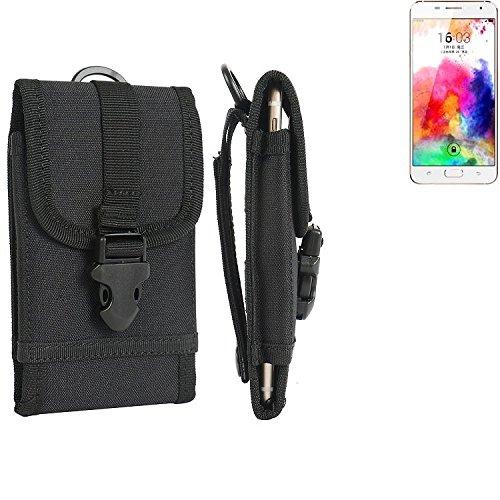 bolsa del cinturón / funda para Hisense A1, negro   caja del teléfono cubierta protectora bolso - K-S-Trade (TM)