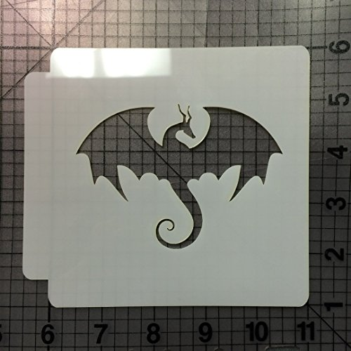 Dragon Stencil 100 (2 Inches)